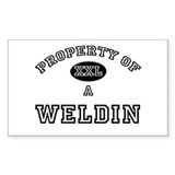 Property of a Weldin Rectangle Decal