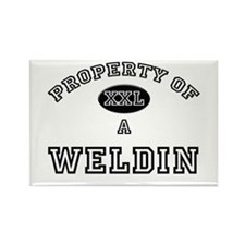 Property of a Weldin Rectangle Magnet
