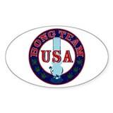 USA Bong Team Oval Decal