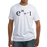 Euler's Formula Fitted T-Shirt