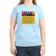 Peaceful Crayons T-Shirt
