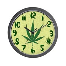 4:20 Marijuana Wall Clock