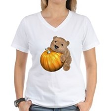 Halloween Pumpkin Bear Shirt