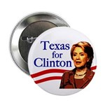 Texas for Clinton Button