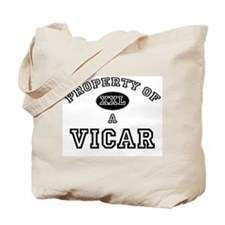 Property of a Vicar Tote Bag