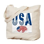 USA stars & stripes flag Tote Bag