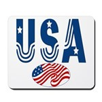 USA stars & stripes flag Mousepad