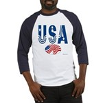 USA stars & stripes flag Baseball Jersey