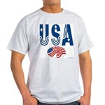 USA stars & stripes flag Ash Grey T-Shirt