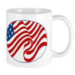 USA stars & stripes flag Mug