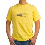 BABY LOADING... Yellow T-Shirt