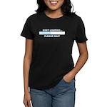 BABY LOADING... Women's Dark T-Shirt