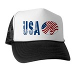 USA stars & stripes flag Trucker Hat