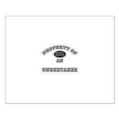 Property of an Undertaker Small Poster