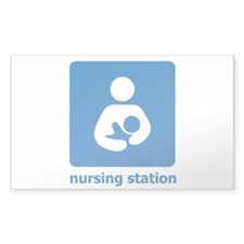 nursing station Rectangle Decal