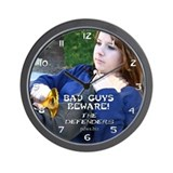 Megan 2 Wall Clock