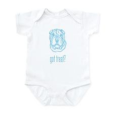 Toy Chinese Shar-Pei Infant Bodysuit