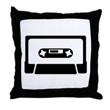 CASSETTE TAPE - Throw Pillow