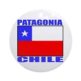 Patagonia, Chile Ornament (Round)