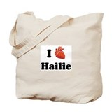 I (Heart) Hailie Tote Bag