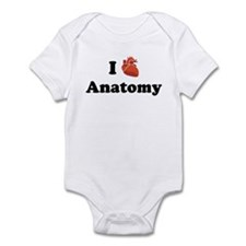 I (Heart) Anatomy Onesie