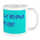 I lOVE HAWAII BUT MY HUSBAND ... Med Mug