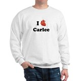I (Heart) Carlee Jumper
