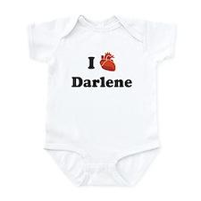 I (Heart) Darlene Infant Bodysuit