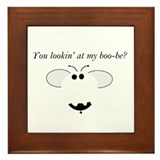 BOO-BEE HUMOR Framed Tile