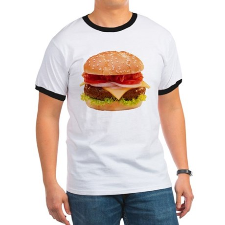 yummy cheeseburger photo Ringer T
