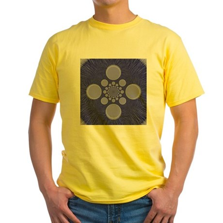 Fractal Yellow T-Shirt