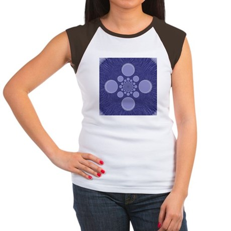 Fractal Women's Cap Sleeve T-Shirt