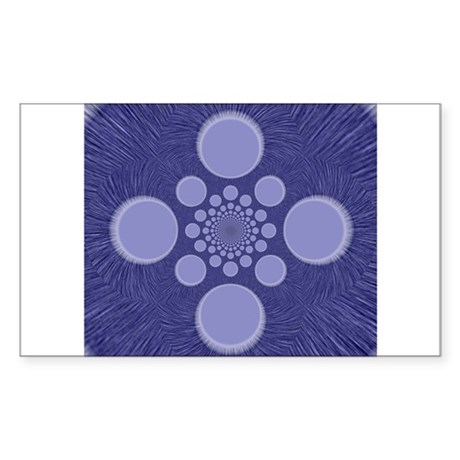 Fractal Rectangle Sticker