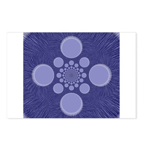 Fractal Postcards (Package of 8)