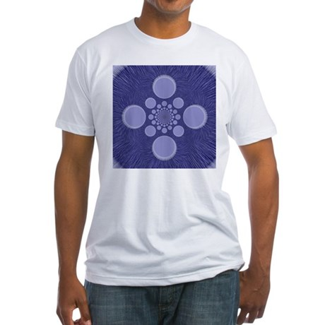 Fractal Fitted T-Shirt