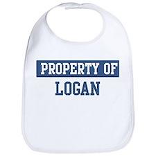 Property of LOGAN Bib