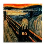 Scream 50th Tile Coaster