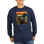 Scream 50th Long Sleeve Dark T-Shirt