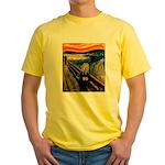 Scream 50th Yellow T-Shirt