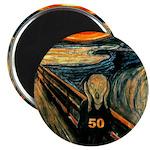 Scream 50th Magnet