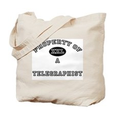 Property of a Telegraphist Tote Bag