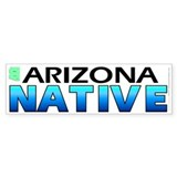 Arizona native (bumper sticker 10x3)