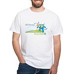 The Avenger - Lightings White T-Shirt