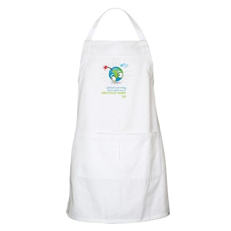 Earth as a Bomb BBQ Apron