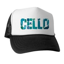 Cello Cracked Trucker Hat