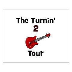 CUSTOM - Turnin' 2 Tour Small Poster