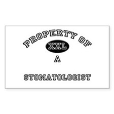 Property of a Stomatologist Rectangle Decal