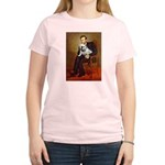 Lincoln's English Bulldog Women's Light T-Shirt