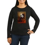 Lincoln's English Bulldog Women's Long Sleeve Dark