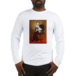 Lincoln's English Bulldog Long Sleeve T-Shirt